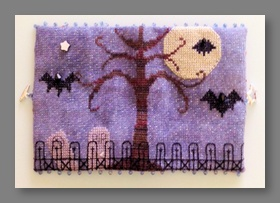 Bats All Folks! Needle Case