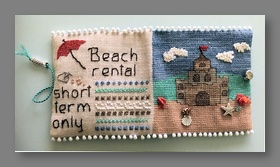 Beach House Needle Case