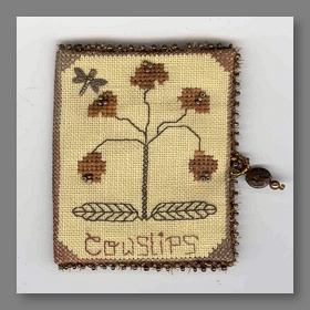 Copper Cowslips Needle Case