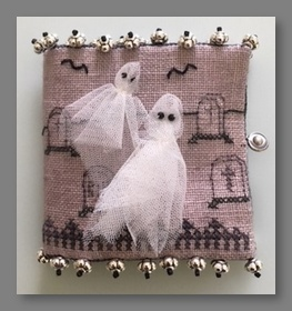 Get Away Ghost! Needle Case