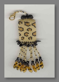 L Is For Leopard Fob