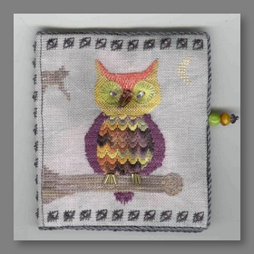 Owloween Stitches Needle Case