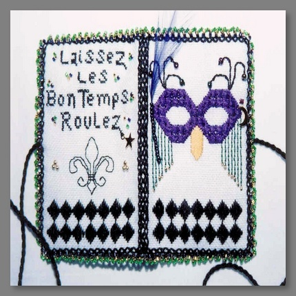 Mardi Gras Needle Book