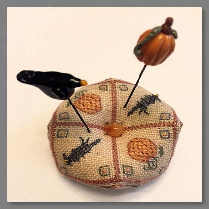 Scared Crow Pin Cushion